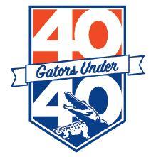 40 Gators Under 40 Logo
